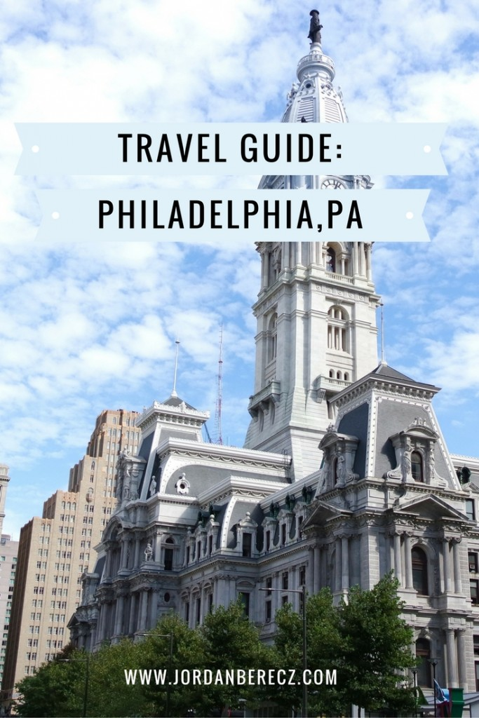 The ultimate travel guide to Philadelphia, PA. The best places to eat, stay, and go in the City of Brotherly Love.