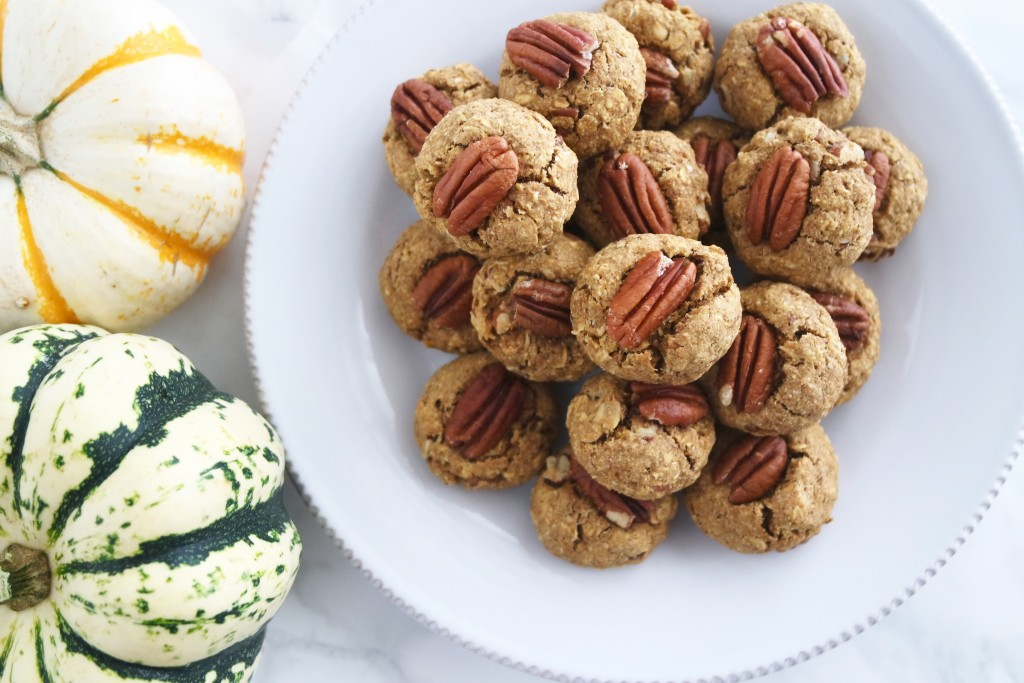 how to make healthy pumpkin spice cookies