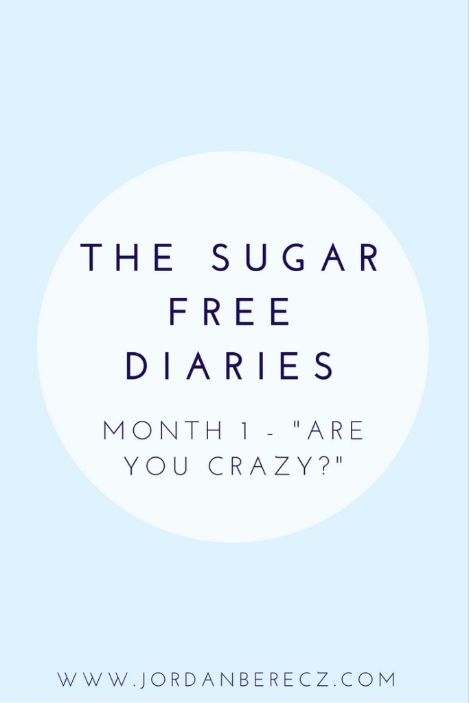 Month 1 Update of my No Sugar Challenge