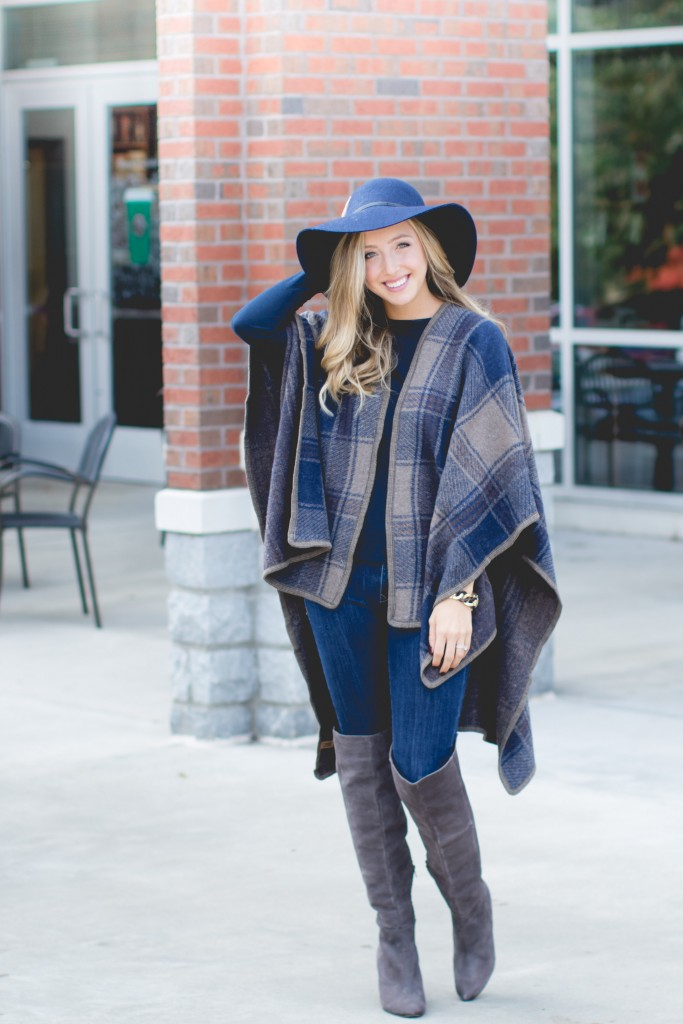 This versatile shawl dresses up any outfit and is a must have for cold winter months!