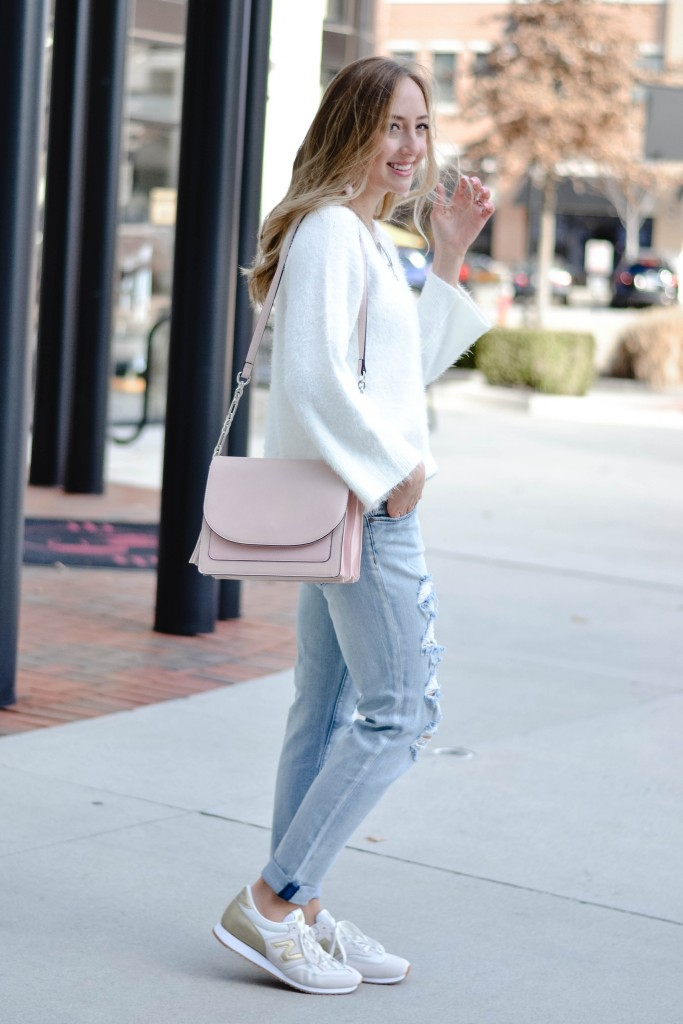 Two ways to wear boyfriend jeans