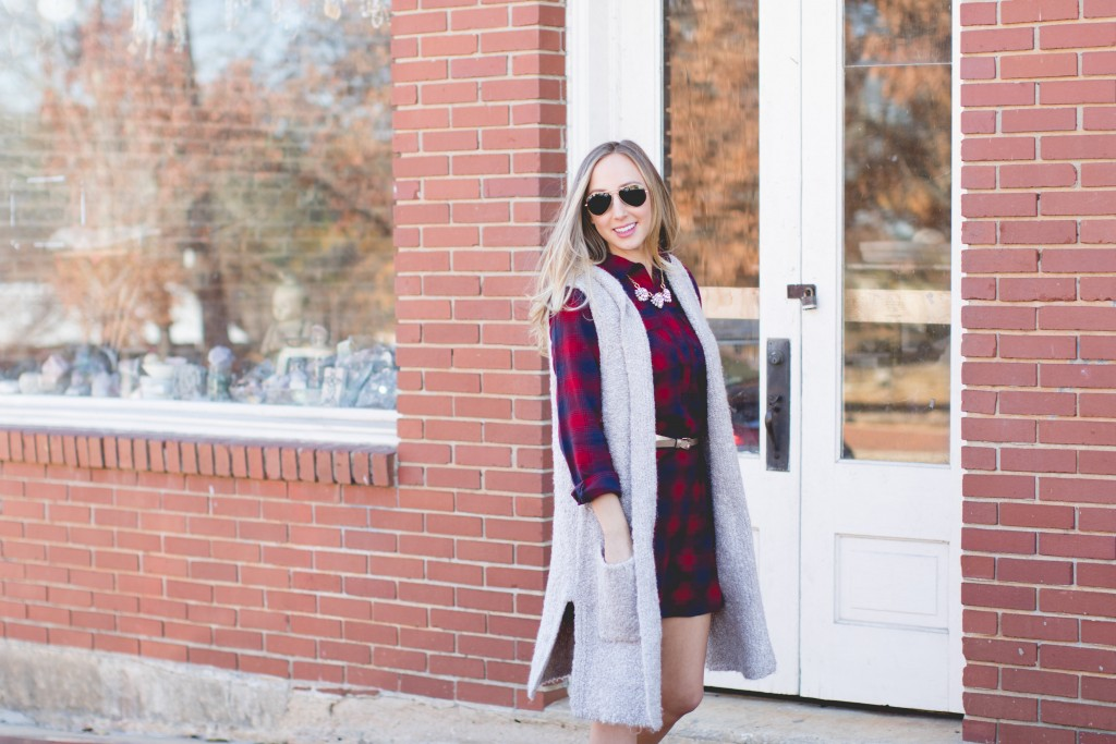 Layered plaid