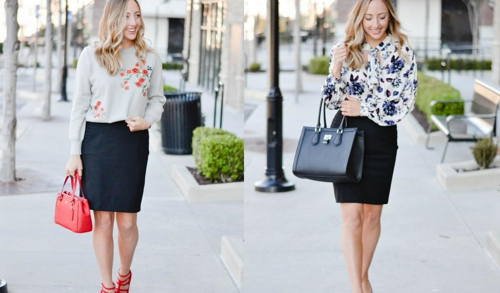 Two Ways: Pencil Skirt